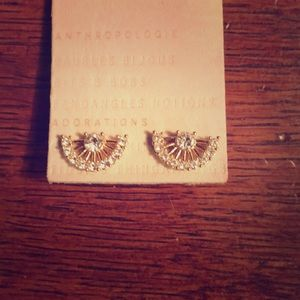 Anthropologie Stone Earrings